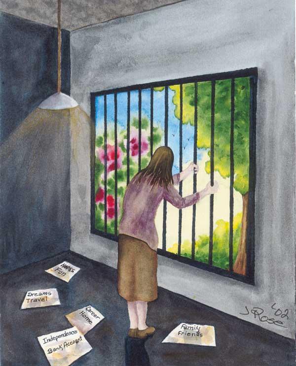 """""""Vivir con una Enfermedad y Dolor Crónico"""" de Judith Rose"""