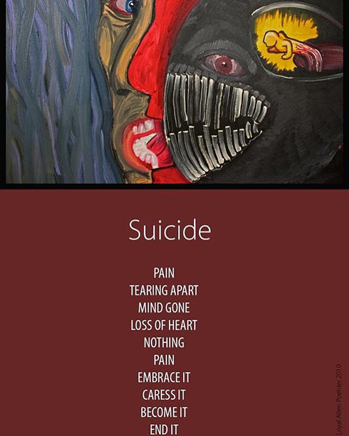 """Suicide"" by Loyal Poehler"